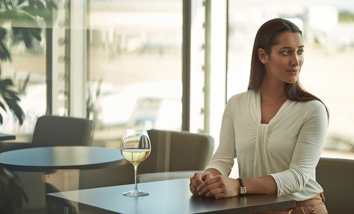 Up to 50% Off Airport Lounge Membership with Priority Pass
