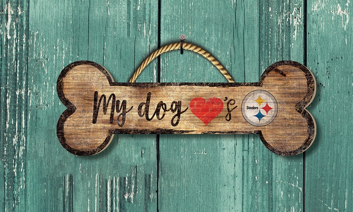 NFL Dog Bone Sign