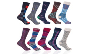 Braveman Men's Patterned Dress Socks (12-Pack) at Braveman Men's Patterned Dress Socks (12-Pack), plus 9.0% Cash Back from Ebates.