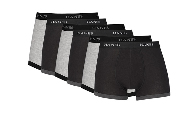 $29 for a Six Pack of Hanes Boxer Shorts (Dont Pay $74.85)