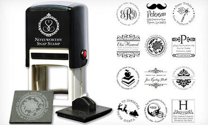Self Inking Stamper Personalized