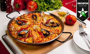 Sa Cova: Paella de marisco, mixta o bacalao para 2 o 4 con entrantes, postre y bebida desde 24,95€ en playa Son Bauló