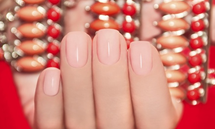 A Gel Manicure with Free Nail Design from Only You Nails & Spa (49% Off)