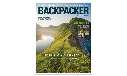Six-Month, One-Year, or Two-Year Subscription to Backpacker Magazine (Up to 86% Off)
