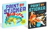 Paint-by-Sticker Books
