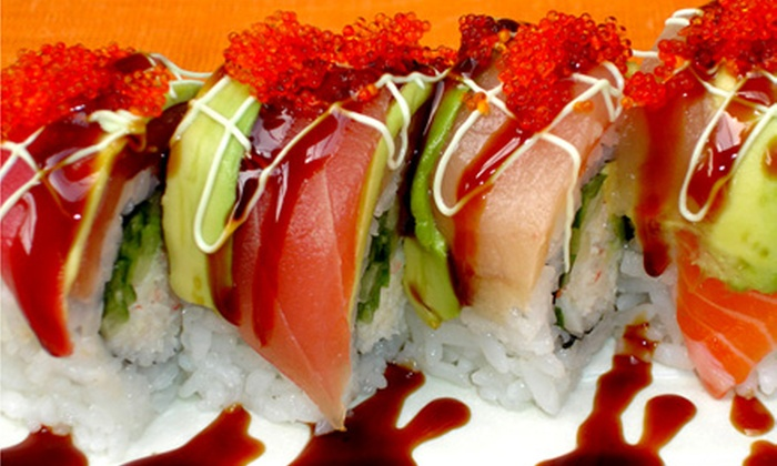 Akari Japanese Restaurant - Delta: Sushi, Japanese Cuisine, and Drinks at Akari Japanese Restaurant (Up to 52% Off). Two Options Available.