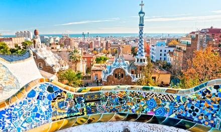 Barcelona: habitación doble o twin para 2 personas con desayuno y acceso a gimnasio en Hotel America Barcelona 4*