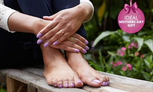 A-List Nail Couture: Manicure or Pedicure from R80 at A-List Nail Couture (Up to 70% Off)