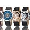 Stührling Original Men's Casual Leather Strap Watch