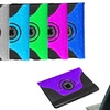 iPad Mini 360 Rotating Glitter Folio Case