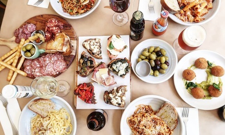 Three-Course Italian Meal for Two ($29) or Four People ($55) at Mamma's Boy Trattoria (Up to $132 Value)