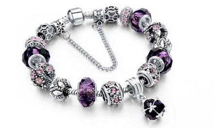 Bracelets charms de la marque Marcus Emporium ornés de cristaux Swarovski®