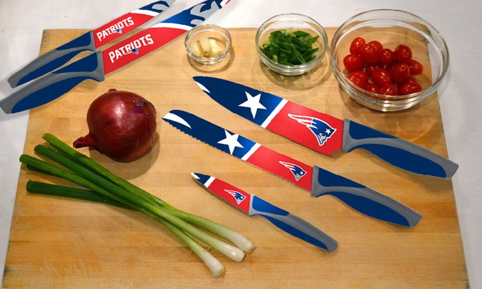 NFL Kitchen Knife Set (5-Piece)