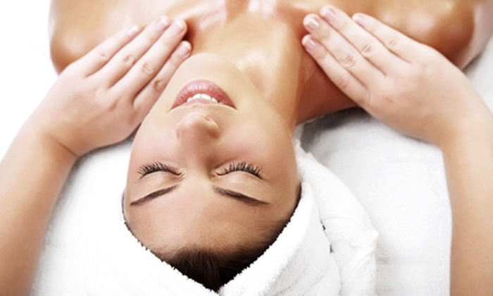 Blu Water Medi Spa - Monroe: Swedish Massage Package or Therapeutic Massage with Optional Facial atBlu Water Spa Salon(Up to Half Off)