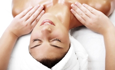 Swedish Massage Package or Therapeutic Massage with Optional Facial at Blu Water Spa Salon (Up to Half Off)