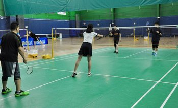 Up to 55% Off Badminton Outing at Houston Badminton Center