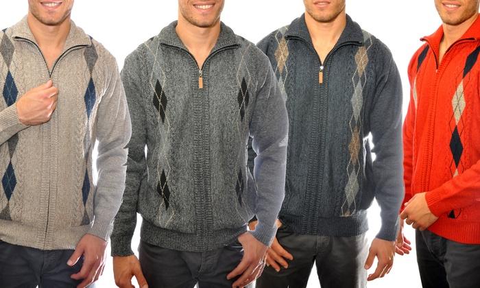 0d465f17fd10 Up To 53% Off on US Icon Men s Full-Zip Sweaters