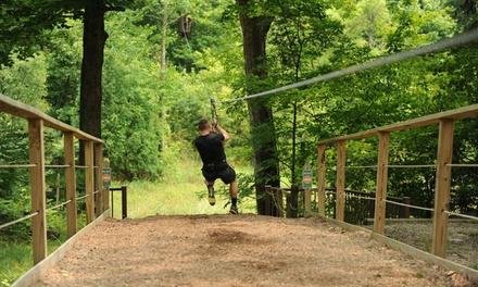 Ziplining Admission for One at Zipline Kingdom (Up to 24% Off)