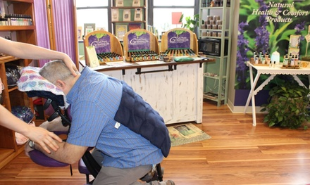 One or Two 30-Minute Massage with Aromatherapy and Discount at Grampa's Garden (Up to 38% Off)