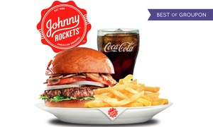 Johnny Rockets: Up to AED 300 to Spend at Johnny Rockets, valid at 13 Locations in the UAE(Up to 56% Off)