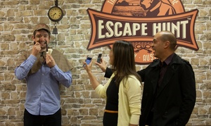 The Escape Hunt Experience Sydney: Escape Room Game For Two ($59), Three ($84), Four ($105) or Five People ($126) at Escape Hunt (Up to $180 Value)