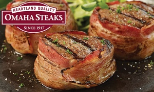 Omaha Steaks: Fall Barbecue Meat Combos from Omaha Steaks Stores (Up to 74% Off). Three Options Available.