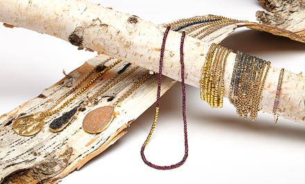 Cristina V. Necklaces and Bracelets. Multiple Styles from $98–$199.