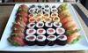 Sushi King General Riera - Sushi King General Riera: Menú para 2 o 4 personas 40 u 80 piezas de sushi y bebida desde 19,95 € en Sushi King General Riera