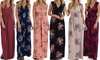 Lyss Loo Sweetest Kiss Floral Maxi Dress. Plus Sizes Available.