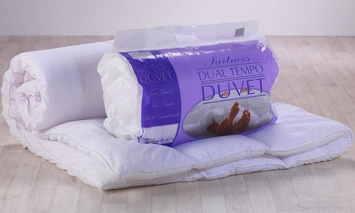 Luxury Dual Tog Couples Duvet Groupon Goods