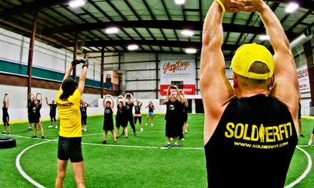 One Month of Unlimited Boot-Camp Fitness Classes for One or Two at Soldierfit (61% Off)
