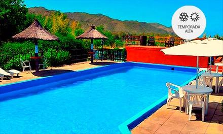 Villa General Belgrano: desde $585 por 2, 3 o 4 noches para dos + desayunos + temporada alta en Hotel Halcón