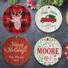 Up to 57% Off Custom Ornaments from GiftsForYouNow.com