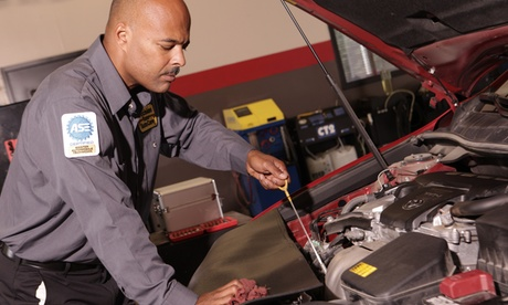 Synthetic Blend or Full Synthetic Oil Change Package w/ Free Wipers at Precision Tune Auto Care (Up to 64% Off)