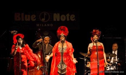 The Three Ladies of Blues, il 15 settembre al Blue Note di Milano (sconto 41%)