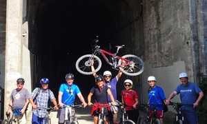 Compass Outdoor Adventures: Snoqualmie Tunnel Bike Shuttle from Compass Outdoor Adventures (Up to 40% Off). Three Options Available.