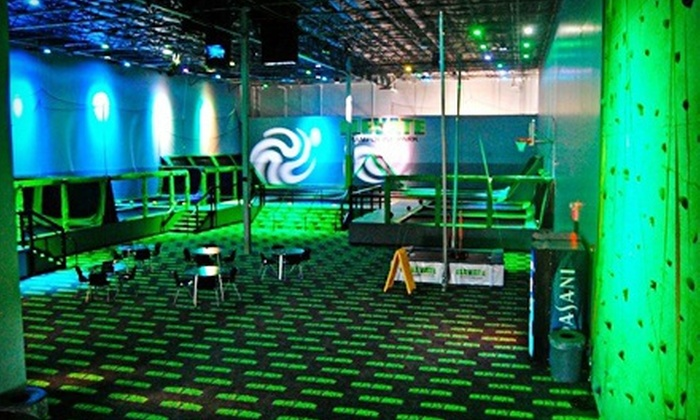 Elevate Trampoline Park - McKinney: $12 for Two 60-Minute Jump Passes at Elevate Trampoline Park ($24 Value)