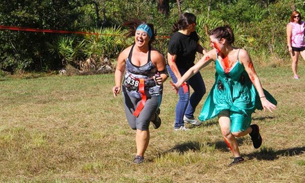 Runner or Zombie Admission to The 5k Zombie Run - Sarasota on Saturday, October 11 (50% Off)