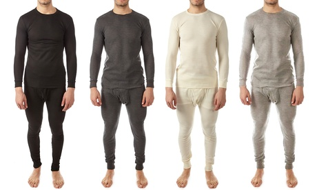 Vertical Sports Men's Waffle-Knit Thermal Set (2-Piece) fec3b404-8e62-11e7-baa0-00259069d7cc