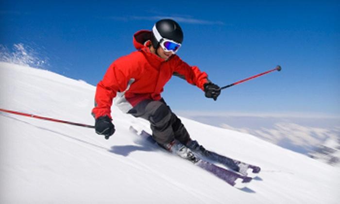 Stony Mountain Ski Area - Stony Mountain: $25 for All-Day Skiing or Snowboarding for Two at Stony Mountain Ski Area (Up to $50 Value)