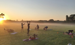 45 Minute Boot Camp: One-monthOutdoorGroupFitnessTrainingforOne($19)orTwoPeople($29) at45 Minute Boot Camp