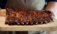 Full Rack of Ribs, Chips, Salad and Craft Beer for 2 ($55) or 4 People ($109) at The BoVine Brasserie (Up to $180 Value)
