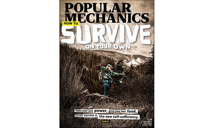 Popular Mechanics Subscription >> Popular Mechanics Subscription Groupon Goods