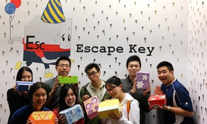 Escape Key: Birthday Party Room-Escape Experience for 4, 6, 8, 10, or 12 (Up to 50% Off)