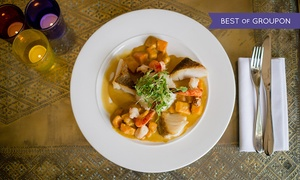 The Crazy Bear Group: English or Thai Signature Menu with Champagne at The Crazy Bear From £29.50 (Up to 65% Off)