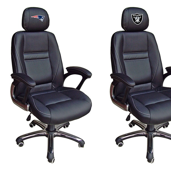 Nfl Leather Office Chair