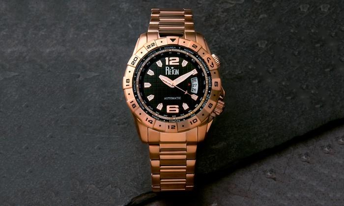 Reloj Automatico Reign Caruso Groupon Goods