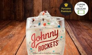Johnny Rockets: Johnny Rockets – 9 endereços: 1 milk-shake de M&M's – use de 05 a 08/06/2017