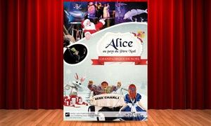 Service aux Spectacles: 1 Place pour ''Alice au Pays du Père Noël'' le 10 et 11 décembre 2016 à Strasbourg ou Châlons-en-Champagne à 20 €