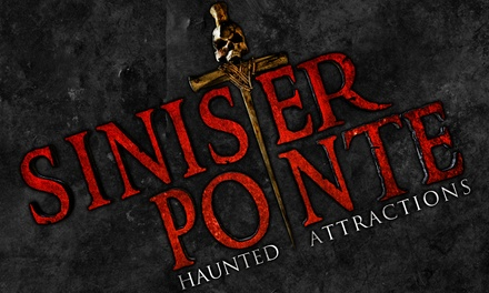 Pass to Sinister Pointe's Scary Place Through October 31 (Up to 40% Off). 40 Options Available.